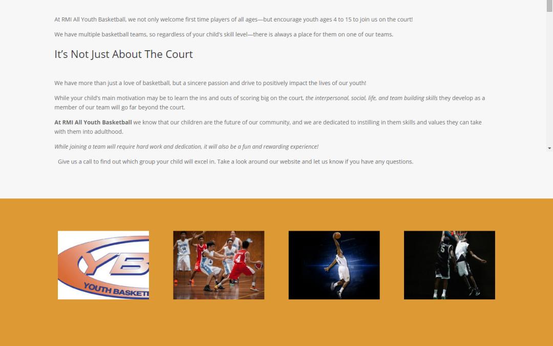 RMI Youth Basketball