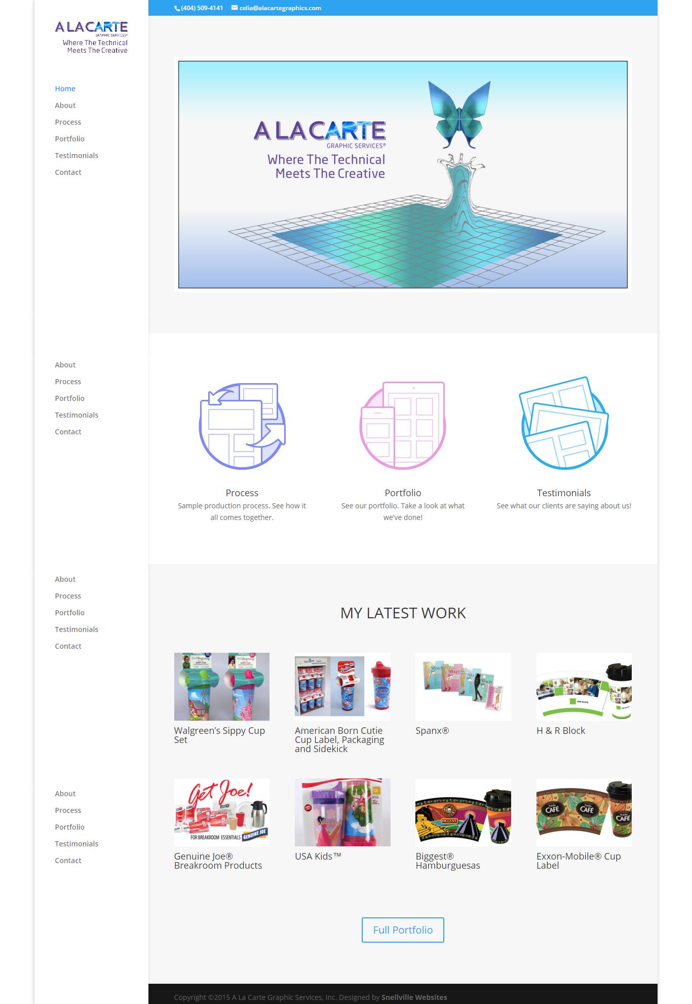 A La Carte Graphic Services