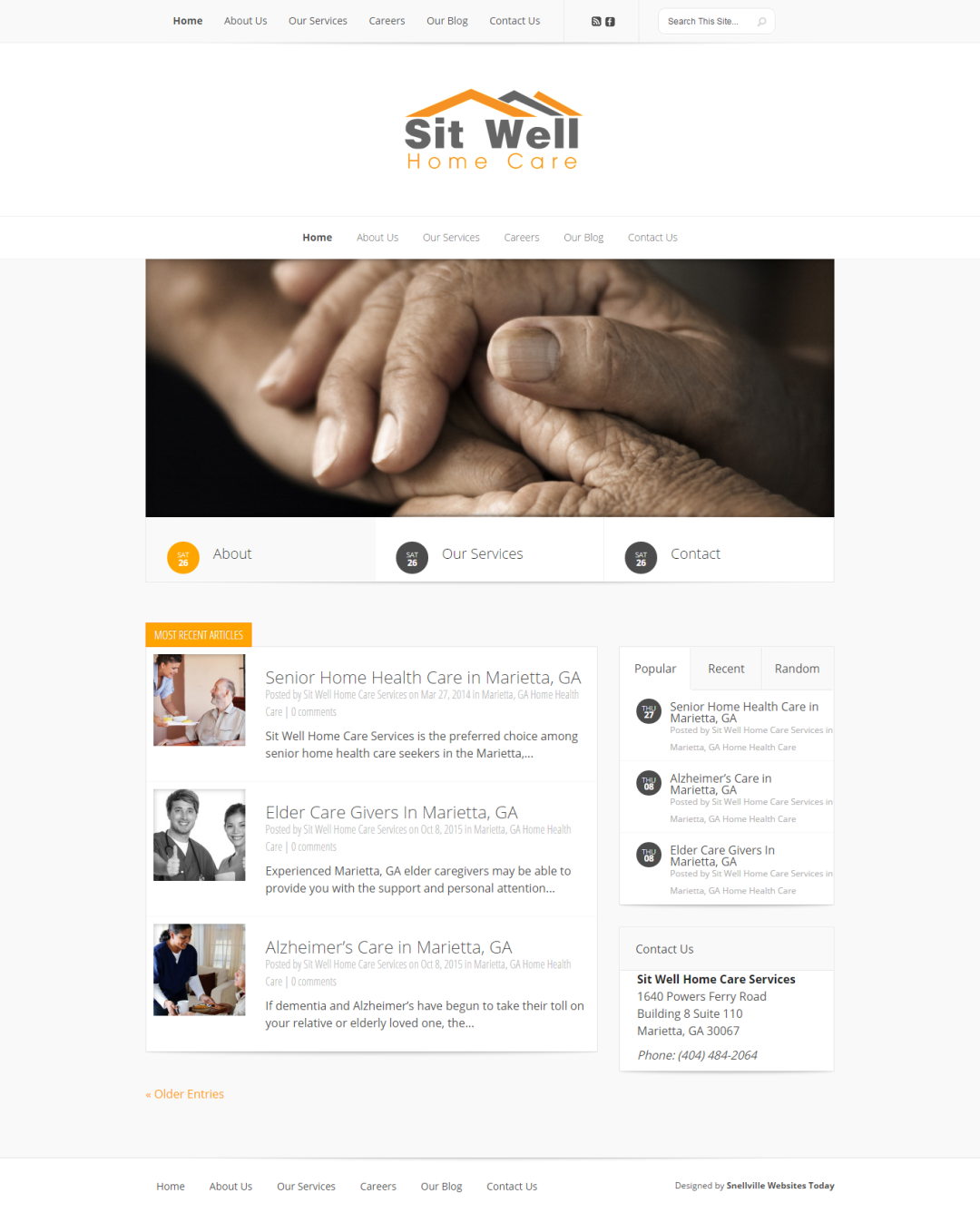 Sit Well Home Care Services
