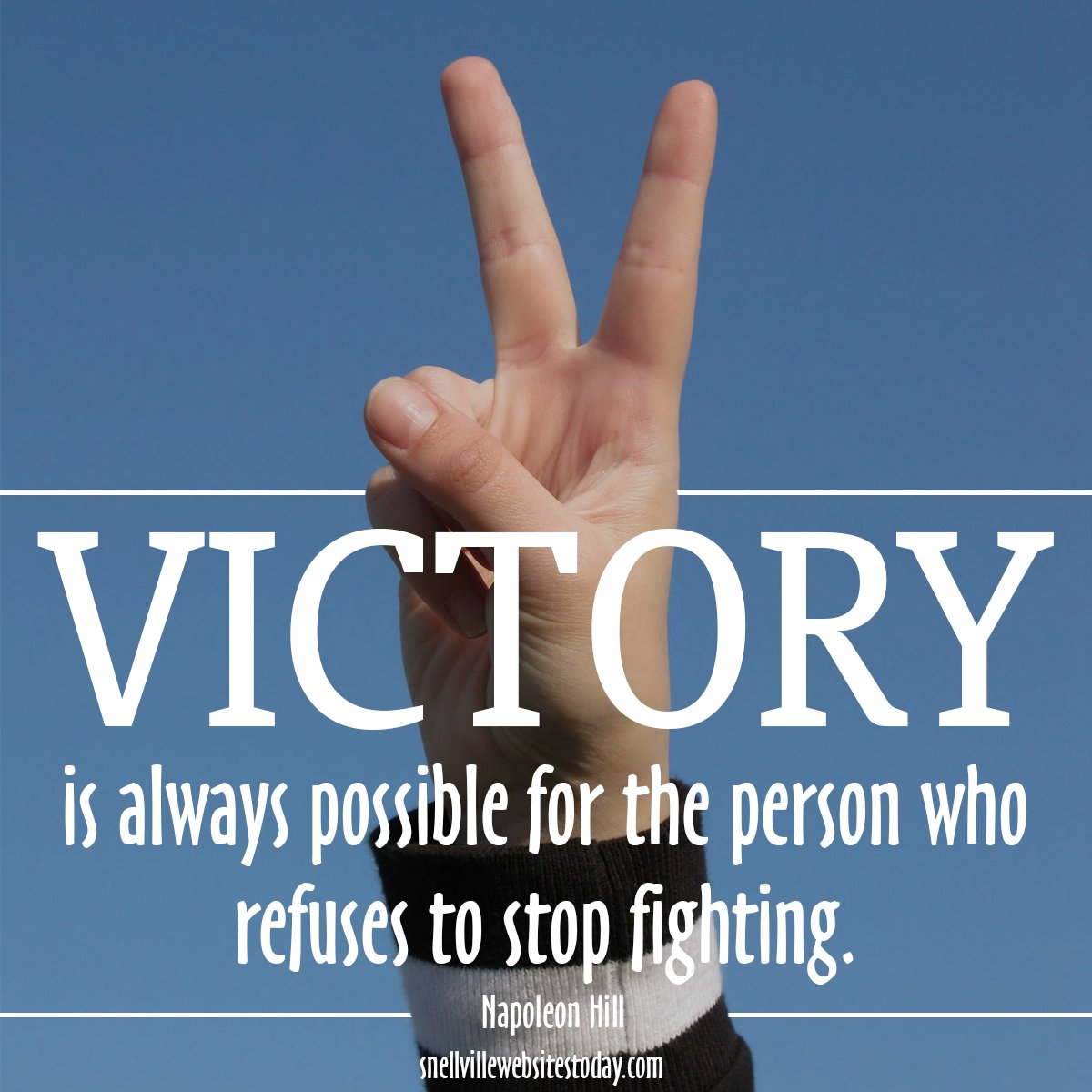 Small Business Websites - Victory is always possible