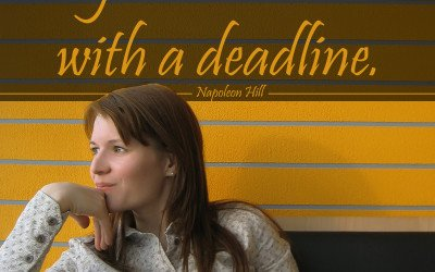 Dream with a deadline…