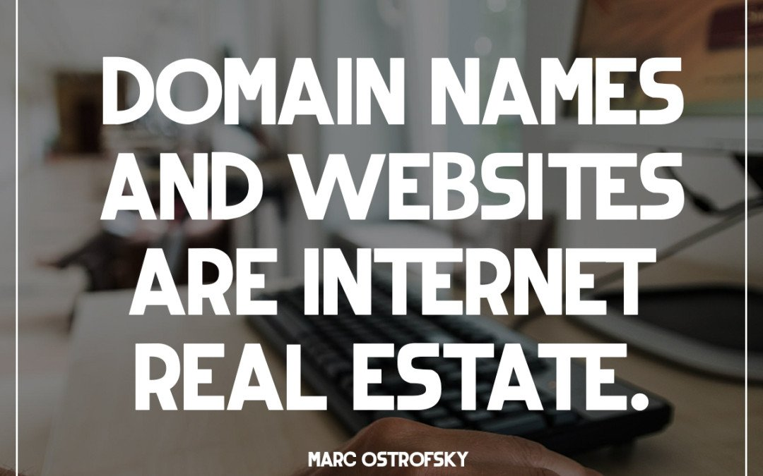 Internet Real Estate…