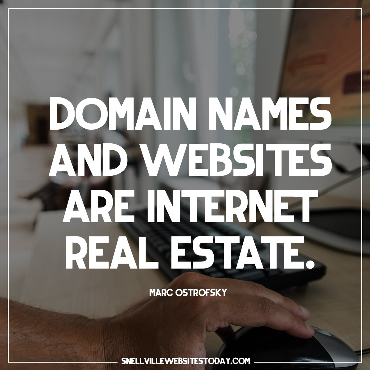 Internet Real Estate - Website Design for your small business
