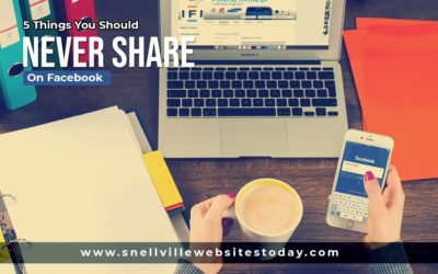 5 Things You Should Never Share On Facebook