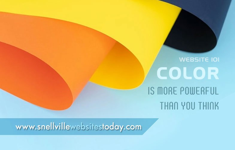 Website 101: Color is More Powerful Than You Think